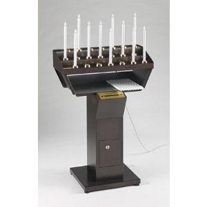Candelieri votivi elettrici gestuali