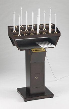 Candeliere Votivo Elettrico Gestuale 21 punti luce (Art. 21/CA)