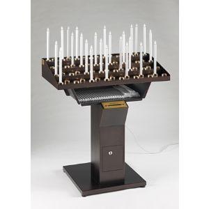 Candeliere votivo Elettrico Gestuale 48 punti luce (Art. 48/CA)