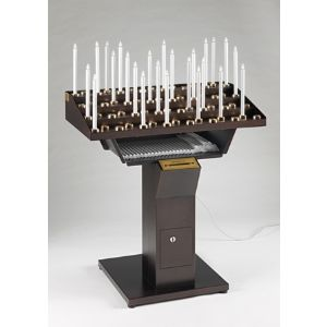 Candeliere Votivo Elettrico Gestuale 60 punti luce  (Art. 60/CA)
